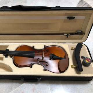 4/4 Violin (Full set) with Quality Strings