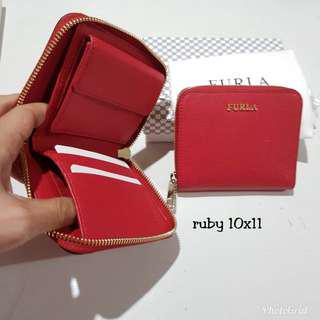 FURLA MINI WALLET RUBY