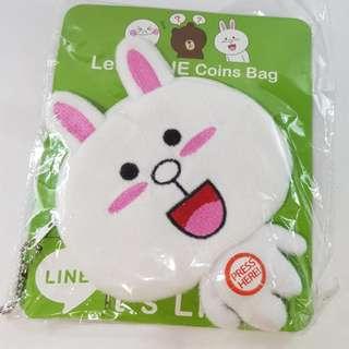Line Cony Coin Bag
