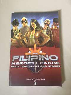 Filipino Heroes League Book One
