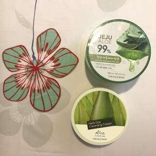 Jeju Aloe & Herb Day Cleansing Cream