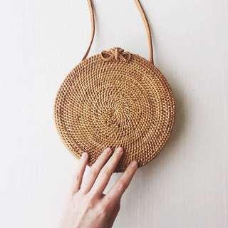 Authentic Bali Rattan Bag