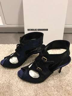 New! Nicholas Kirkwood Open Toe Heels (37.5)