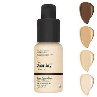🚚 the ordinary serum foundation