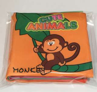 Baby Cloth Book 📖 Cute Animal. Any 3 📖 for $10
