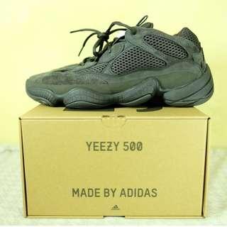 Adidas Yeezy 500 - Utility Black - Size 10
