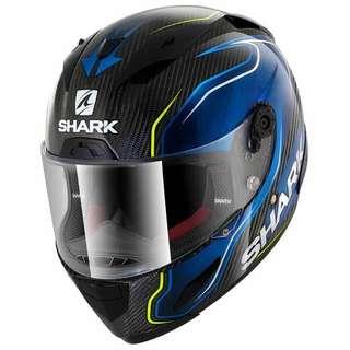 Shark Race R Pro Carbon Helmet (Replica Guintoli/ Zarco)
