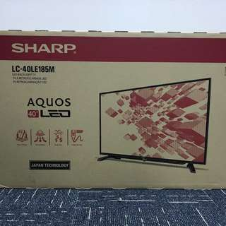 "BRAND NEW SHARP 40"" FULL HD LED TV LC40LE185M LATEST 2018 MODEL"