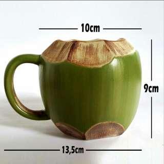 Mug kelapa