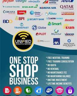 """ONE STOP SHOP BUSINESS"""