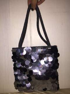 Pre-Loved. Formal Evening Tote Bag (Hand-sewn)