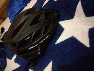 Mountain Peak Helmet S-100 (Matte Black)