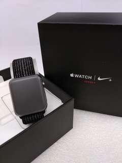 全新未激活行貨 Apple Watch Nike+ S3 42mm SG AI Blk/ Plat Nike Sport Loop (GPS + Cellular)