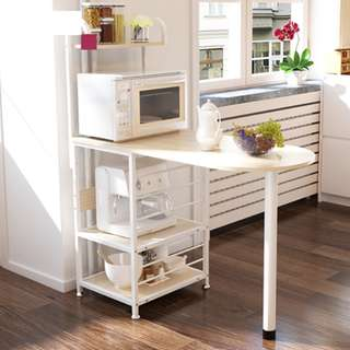 Dining / Kitchen Table with Mini kitchen Organizer