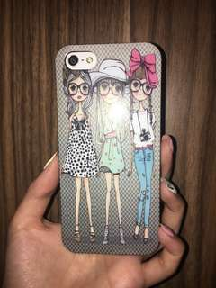 Korean Cartoon Girls iPhone 5/5s