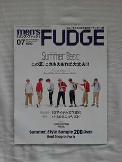 Men's Fudge July 2018