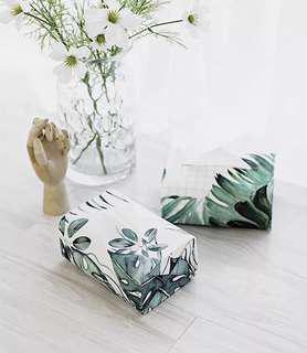 Nordic Ins Waterproof Tissue Cover (Leaf Series)