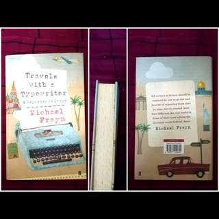Preloved English Novel - Travels with a Typewriter