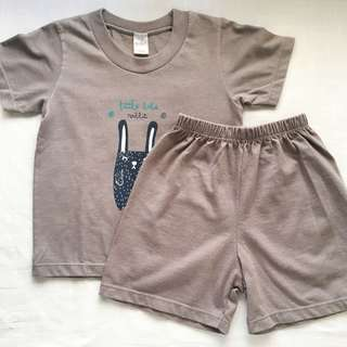 Bebe Baby Boys' Shirt and Shorts (9-12 mos)