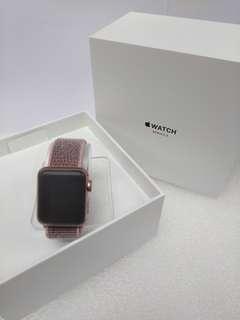 全新未激活行貨 Apple Watch Series 3 38mm Gold AI Pink Sand Sp Loop (GPS + Cellular)