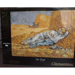Museum Collection 1K Pcs Puzzle - Musee d'Orsay 'La Siesta' Van Gogh