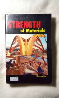 Strength of Materials by Besavilla