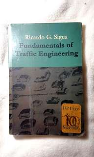 Fundamentals of Traffic Engineering by Sigua