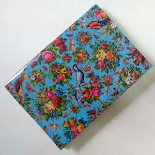 🚚 Pocket-size beautiful Peranakan motif notebook