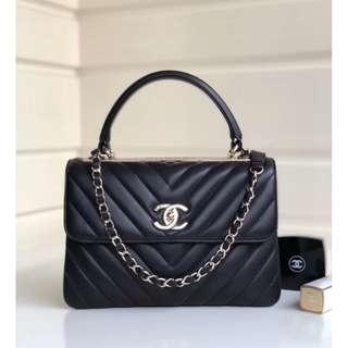 CHANEL羊皮手袋 92236(Black) 😘Classic lambskin Handbag