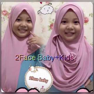 2face Baby Kid's Hijab