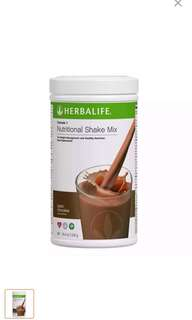 F1 Dutch Chocolate Herbalife shake