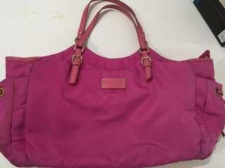 Authentic Kate Spade pink diaper bag