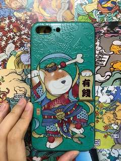 有錢狗仔手機殼iPhone 7plus/8plus