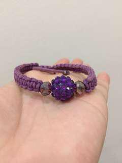 BISA BARTER 🎉 Purple Bracelet