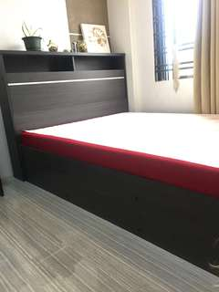 DESK & BED FRAME FOR SALE