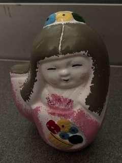 Japanese Clay Doll