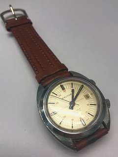 Vintage Waltham alarm watch swiss made