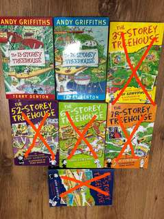 The Treehouse Books (by Andy Griffiths)
