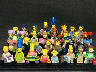 Lego collector minifigures series 1&2