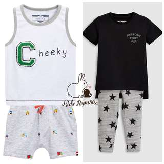 KIDS/ BABY - vest/ Shorts/ Tshirt/ Leggings/ Set