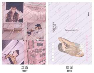 Ariana Grande postcard