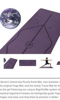 Liforme (new) Purple Earth Travel Mat