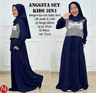 Anggita set kids 3in1