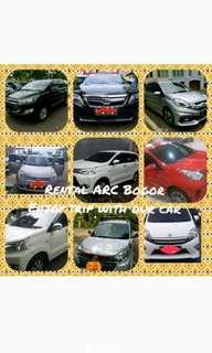 Rental mobil ARC BOGOR Plus supir dan Lepas Kunci