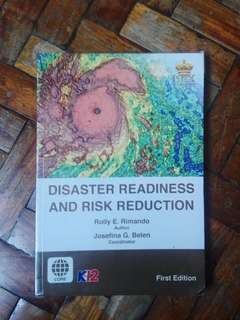 SHS BOOK: Disaster Readiness and Risk Reduction
