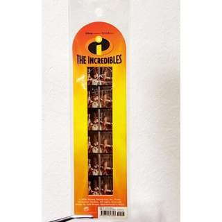 Pixar The Incredibles Collectible Film Strip Bookmark