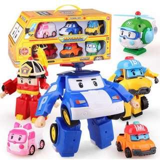 Robocar poli transformer 1 set - PO