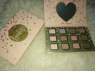 TOO FACE LOVE EYESHADOW PALLET / EYESHADOW PALLETE