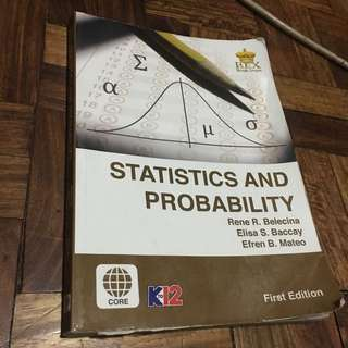 Statistics and probability shs 11