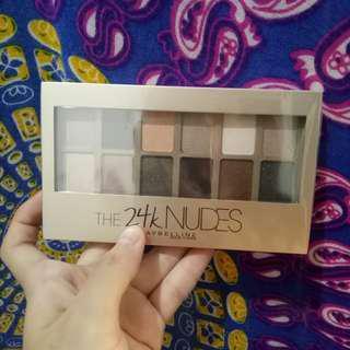 NEW - MAYBELLINE The 24K NUDES PALLETE #maudecay